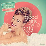 TF PUBLISHING 2021 Raging Beauties Wall Calendar - Retro Kitschy Ladies - Appointment Tracker - Home or Office Planning - Matte 12'x12'