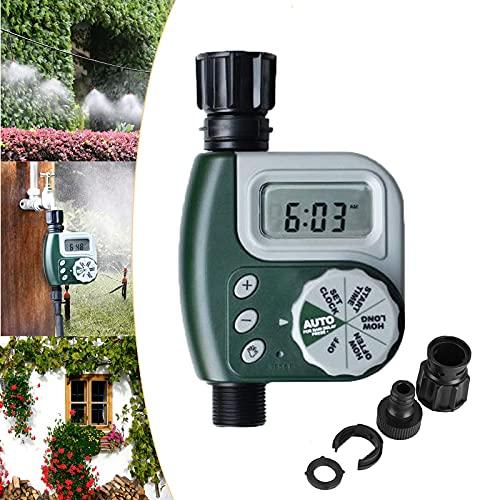 Temporizzatore per Irrigatore, MKNZOME Timer Irrigazione Automatico Digitale Centralina Irrigazione, modalità Programmabile Filetto 3/4' Alimentato a Batteria, per Giardino Pianta Balcone#4