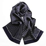 Bufanda Formal suave bufandas, todas las estaciones de gama alta for hombre de la bufanda de seda de la bufanda de los hombres de la tela escocesa de los hombres del pañuelo for el cuello, Regalos for