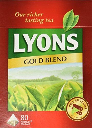 Lyons Gold Blend Tea. 3 Pack X 80 Bags by Lyons