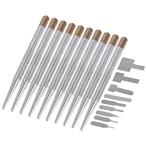 Cenpen 20pcs del teléfono móvil BGA Chip IC reparación Cuchillas kit de reparación de la CPU extractor de cuchillas de corte teléfono placa base de la viruta de reparación de herramientas Herramientas