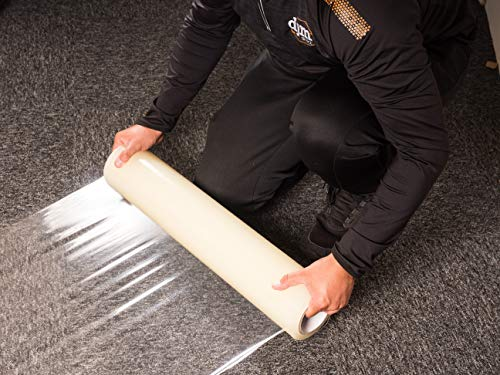 DJM Direct Platinum Carpet Protector Film Self Adhesive 600mm x 25M or 100M (600 x 100m)