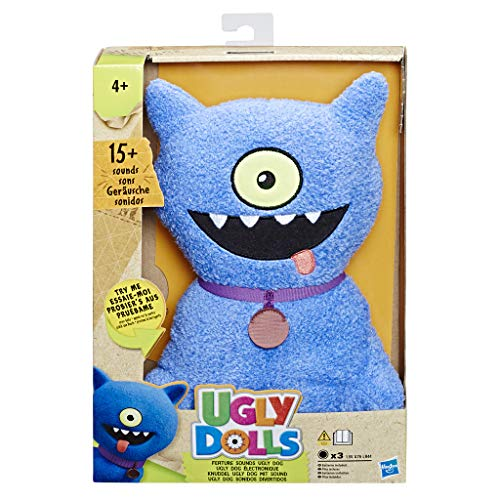 Ugly Dolls Talking Ugly Dog Peluche, Multicolor (Hasbro