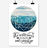 Prints Eisenherz The Wilderness is Calling Kunstdruck