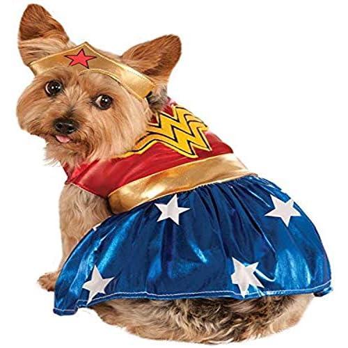 Rubie's, Costume per Cani di Wonder Woman, Taglia Grande
