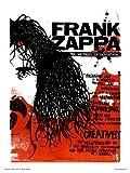 onthewall FRANK Zappa Poster Kunstdruck von Simon Walker
