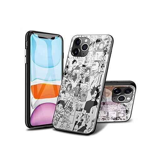 SviXXaYN iPhone 11 Pro Funda, Parte Trasera de Cristal Templado + Funda Protectora de TPU de Silicona Suave, Compatible con iPhone 11 Pro #010(C)