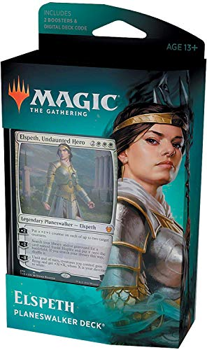Magic: The Gathering Theros Beyond Death Elspeth, Deck Planeswalker héroe intimidable