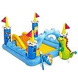 Intex - Centro de juegos hinchable: castillo, 178 litros, 185 x 152 x 107 cm (57138)