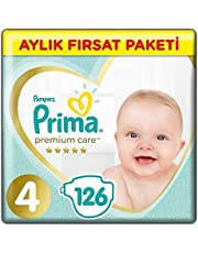 Prima Bebek Bezi Premium Care 4 Beden