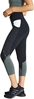 Rockwear Activewear Women's Winter Bloom 7/8 Blocked Tight Black 14 from Size 4-18 for Bottoms Leggings + Yoga Pants+ Yoga...