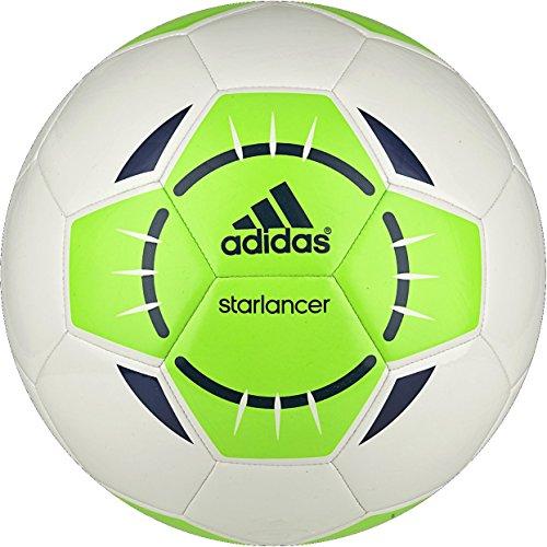 adidas Starlancer IV – Balón de fútbol, Color Blanco/Solar Verde ...