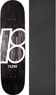 Plan B Skateboards Stained Black Skateboard Deck - 8