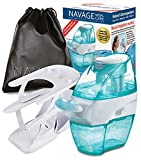 Navage Nasal Care DELUXE Bundle: Navage Nose Cleaner, 20 SaltPods, Triple-Tier Countertop Caddy, & Travel Bag. Clean Nose, Healthy Life! Save 27.90. 142.85 if purchased separately. Breathe Better Now!
