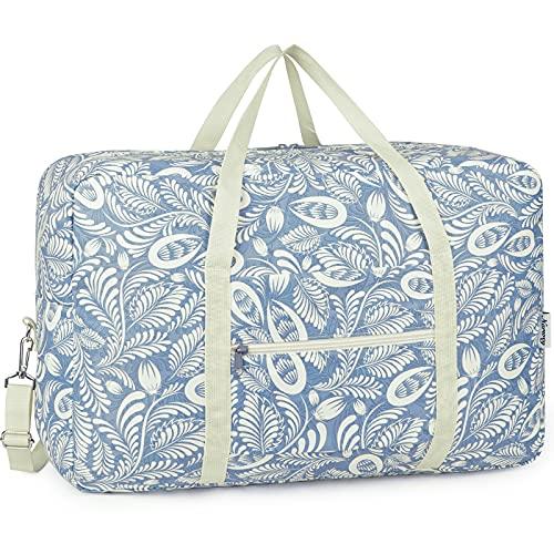 Bolsa de viaje, plegable, de lona, ideal para fines de semana o...