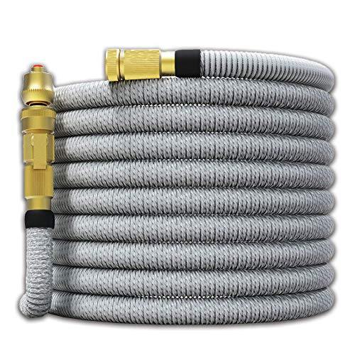 TITAN 100FT Garden Hose - All New Expandable Water Hose with Dual Latex Core 3/4