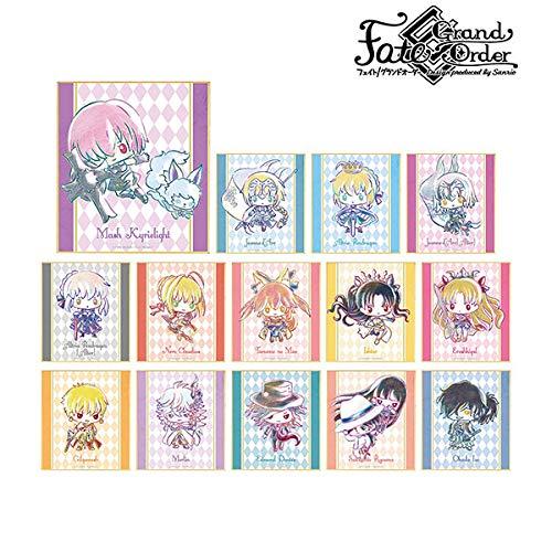 Fate/Grand Order サンリオ トレーディング Ani-Art ミニ色紙 BOX商品