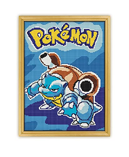 Pokemon Blue Game K1100 Counted Cro…