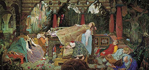 p5277 A0 Canvas vasnetsov 17 - Art Movie Film Game - Reproduction Old Vintage Wall Decoration Gift