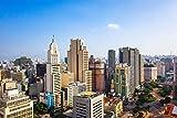 City Skyline Sao Paulo XXL Wandbild Kunstdruck Foto