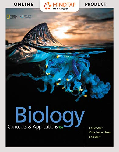 Bundle: Biology: Concepts and Applications, Loose-Leaf Version, 10th + MindTap Biology, 2 terms (12 months) Printed Acce
