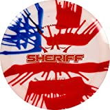 Dynamic Discs MyDye American Flag Hybrid Sheriff Disc Golf Driver | Maximum Distance Frisbee Golf Driver | Stable Golf Disc | 170g Plus | Stamp Colors Will Vary