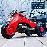 JLWDD Elektrisches Kindermotorrad,Dreirad-Motorrad,Dreirad Elektrofahrzeug Geeignet Fur Kinder Von 3 Bis 7Jahren