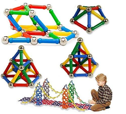 Chocozone 157pcs Magnetic Building Blocks Educational Toys for 10 Years Old Boys Girls