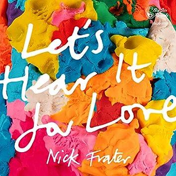 Let's Hear It for Love (Big Stir Single No. 93)