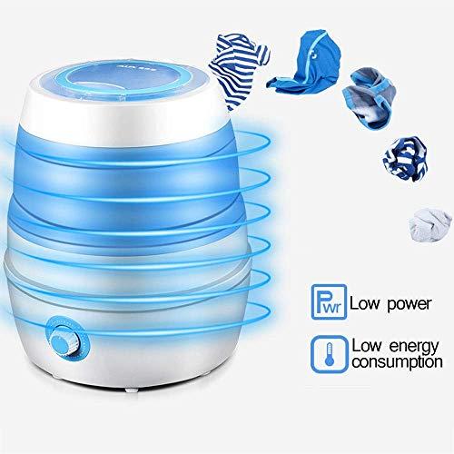 XHCP Tragbare Waschmaschine Klappbare Tragbare Mini-Waschmaschine , Sockenwaschmaschine , Energiespar- und Umweltschutz, Blau
