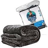 Nuke Guys - Gamma Dryer XXL - Mikrofaser Trockentuch - ideal zum groflächigem Trocknen - 1400 GSM, 50x80cm - das ideale Tuch zum abtrocknen, für Autopflege und Motorradpflege - sanfte Fasern