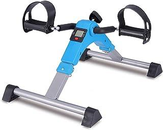 Folding Mini Exercise Bike Portable Home Pedal Exerciser Rehabilitation Training Machine