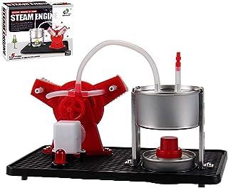 Steam Engine Model Building Kits Stirling Engine Kit, DIY Hot Air Stirling Engine Motor Model, External Combustion Heat St...