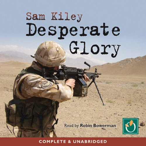 Desperate Glory audiobook cover art