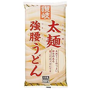 さぬきシセイ 讃岐太麺強腰うどん 600g×5袋