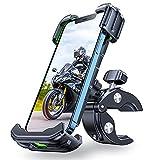 [Never Break] Bike Phone Mount, VICSEED Motorcycle Phone Mount [Full Protection & Super Stable] Bike Phone Holder for Bike Bicycle Phone Mount Fit with iPhone 12 Pro Max Galaxy S21 4.7'- 6.8' Phone