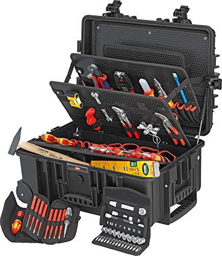 Knipex Robust 45 Elektro 00 21 37 Elektriker Werkzeugkoffer bestückt 63teilig