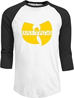 WuTang Announce Square Hip Hop Men's Baseball Shirts Jersey Shirt