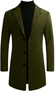 Best structure men's wool blend military jacket Reviews