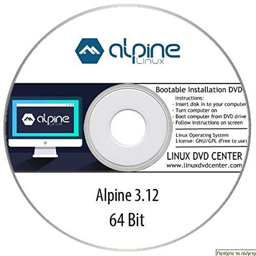 Alpine Linux 3.12.1 Standard (64Bit) - Bootable Linux Installation DVD