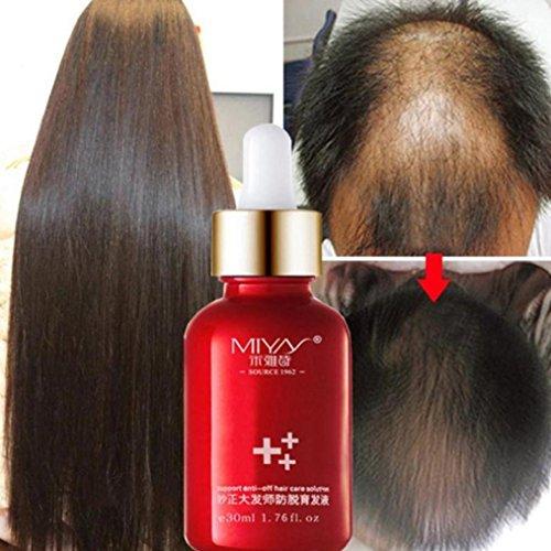 MuSheng(TM) Croissance des cheveux Essence Advanced Thinning Hair & Hair Loss Supplément 30ML