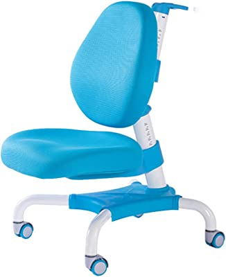 QFFL jiaozhengyi Corrective Chair Backrest Liftable Posture Correction Chair Positive Double Back Swivel Chair Childrens Desk