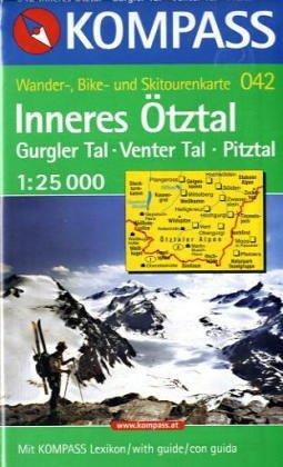 Kompass Karten, Inneres Ötztal (Nr.042)