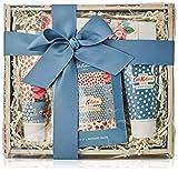 Cath Kidston Beauty Cottage Patchwork Verwöhnkorb (100 ml Handcreme, 50 ml Körperpeeling, Box mit...