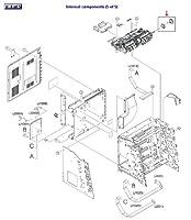 HP rm1–2704–000CNギアアセンブリ–MP/Tray 1用紙ピックアップギアアセンブリ