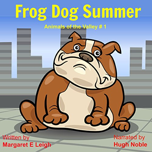 Frog Dog Summer audiobook cover art