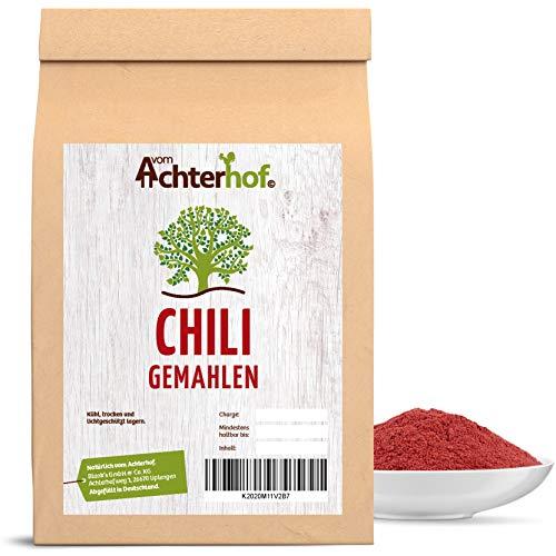 500 g Chili Chilischoten gemahlen rot scharf Chilipulver Chili Gewürz