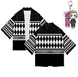 Anime Tokyo Revengers - Abrigo con llavero, chaqueta para Halloween, carnaval, capa para mujer y hombre, a, XL