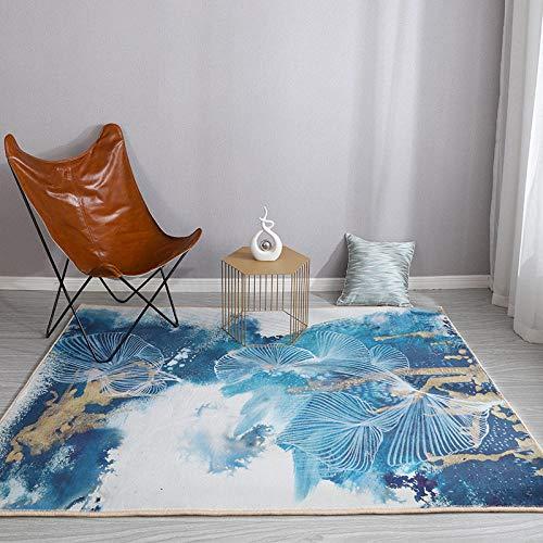Pasillo Cocina Escalera Diseño Moderno,Accesorios para el hogar Exquisita Tinta Pintura Degradado Alfombra de Pelo Corto 80x120cm