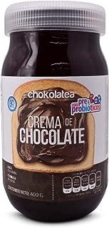 Chocolatea® Crema De Chocolate Con Prebióticos y Probióticos. Ingredientes Orgánicos. 400g.